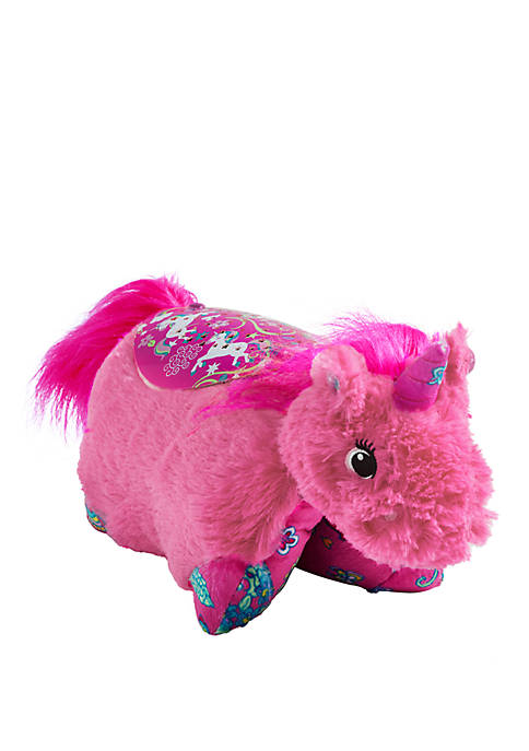 Pillow Pets Colorful Pink Unicorn Sleeptime Lite