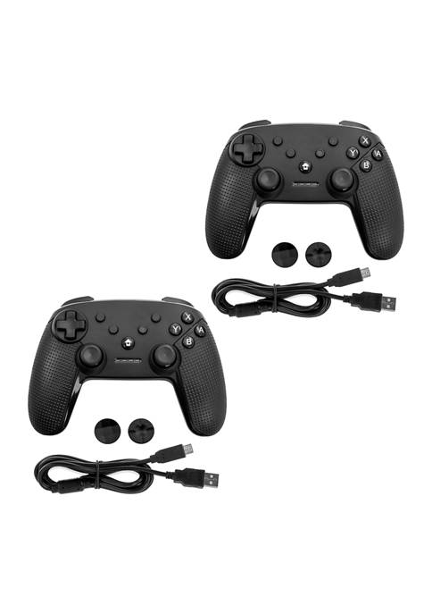 Gamefitz 2 Pack Wireless Controller for the Nintendo