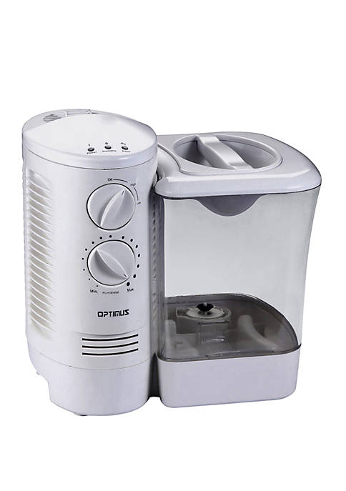 Optimus 2.5 Gallon Warm Mist Humidifier with Wicking