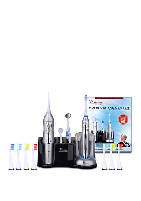 Pursonic Deluxe Home Dental Center Sonic Toothbrush with
