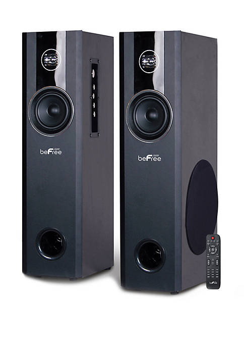 Befree Sound 2.1 Channel Home Theater Bluetooth Powered