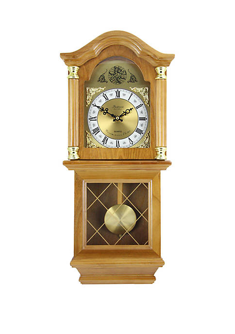 Bedford Clock Collection 26 Inch Classic Wall Clock