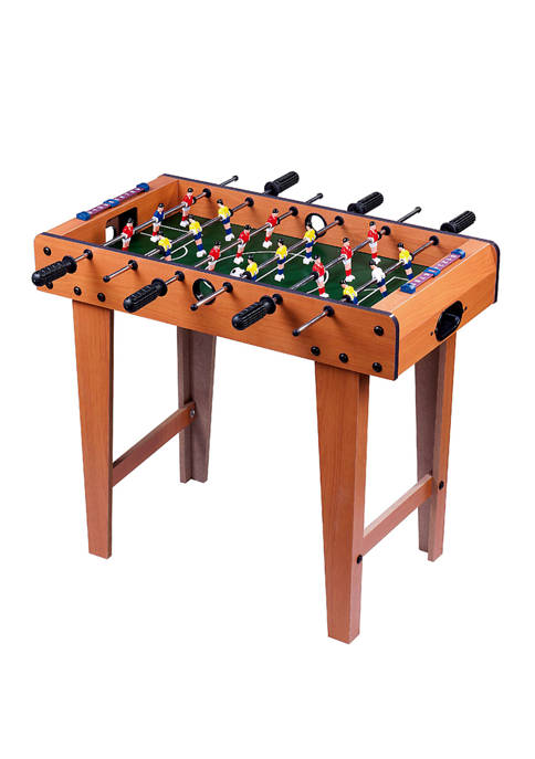 Giant 27 Inch Wood Foosball Table with Legs