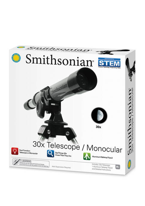 Smithsonian 30X Telescope/Monocular