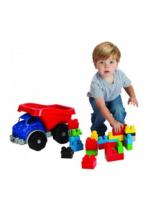 Amloid A Ton of Blocks Dump Truck Toy