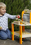 Wooden Play Work Bench