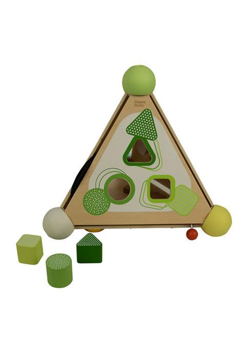 Classic Toy Wood Pyramid Activity Box