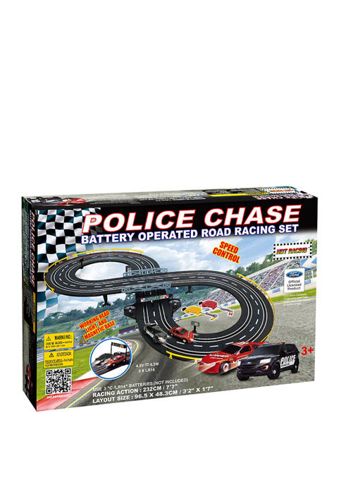 GB Pacific Battery Operated Police Chase Road Set