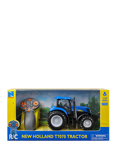 Radio Control 1:24 Scale New Holland T7.315 Farm Tractor