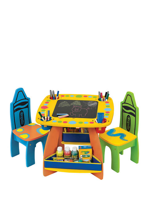 Grow'n Up Crayola® Wooden Table & Chair Set