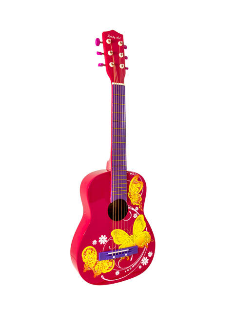 Ready Ace 30 Inch Acoustic Student Guitar Pink