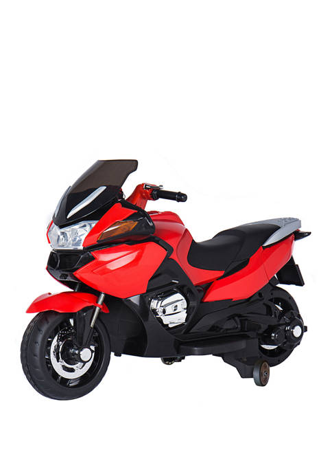 Red 12V Motorcycle