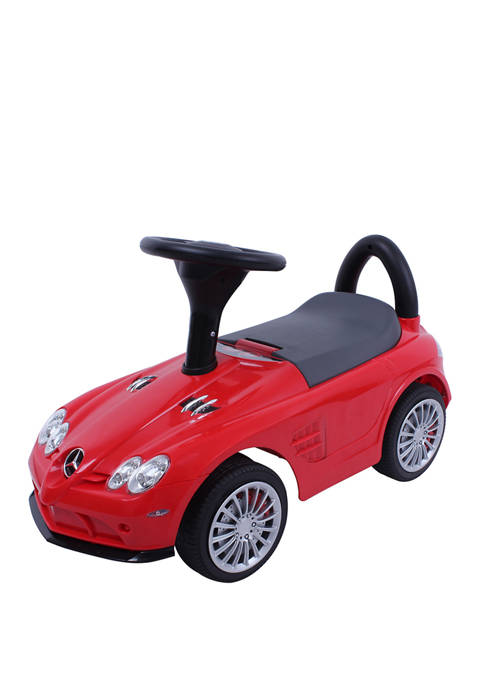 Red Mercedes-Benz