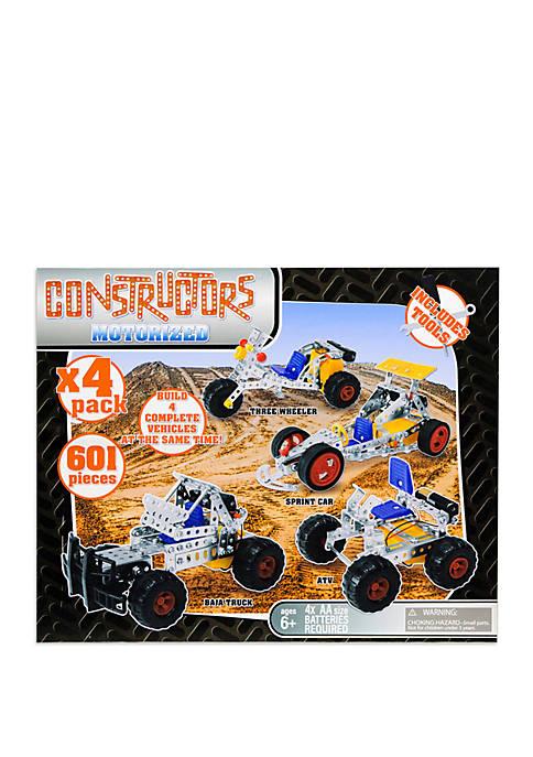 Gener8 4 in 1 Motorized Metal Constructors Set