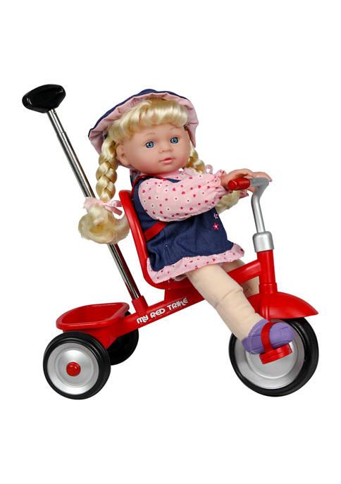 12 Inch Babydoll with Trike
