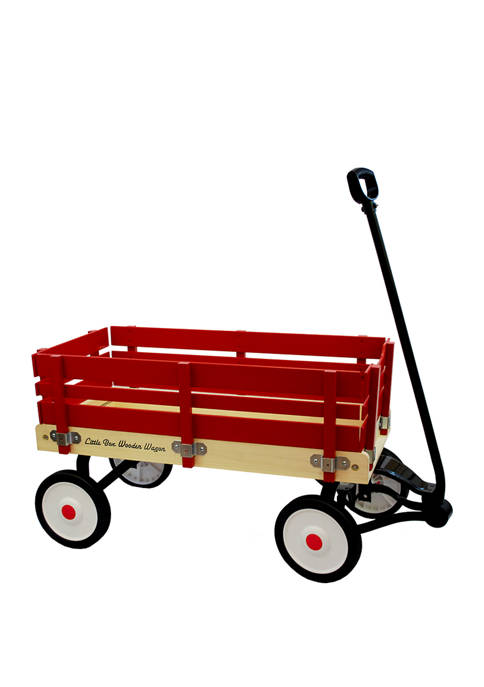Little Box 34 Inch Wood Wagon