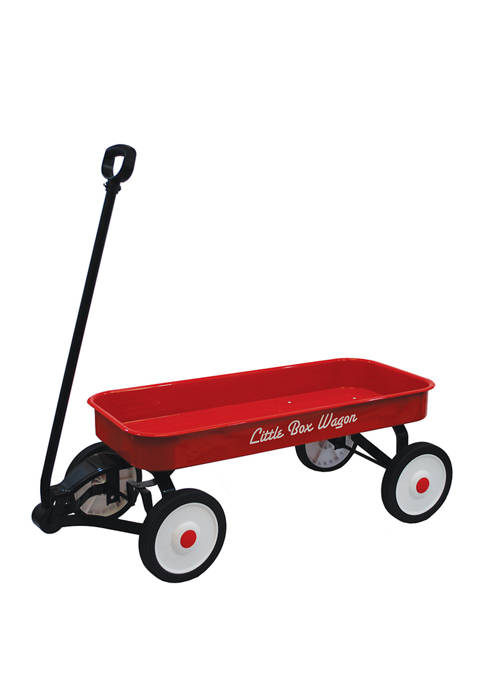 34 Inch Little Box Metal Wagon