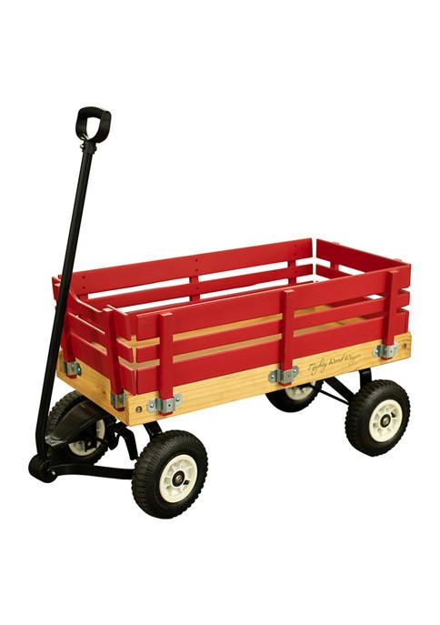 Synergistic Childrens Metal/Wood Side Rail Wagon