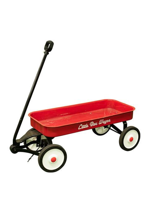 Childrens Classic Pull Along Steel Wagon