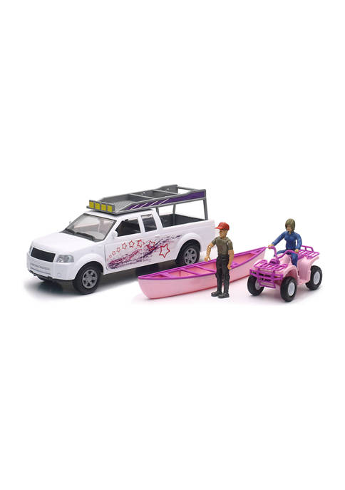 1:20 Camping Adventure Pickup with ATV