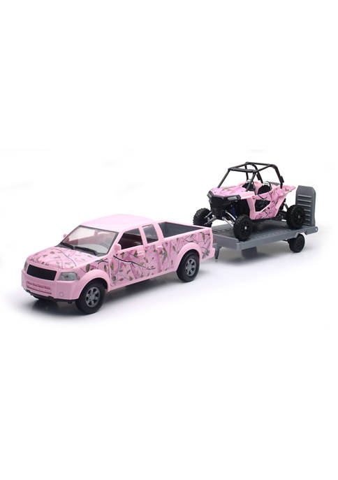 Camo Pickup Truck with Camo Polaris Razor