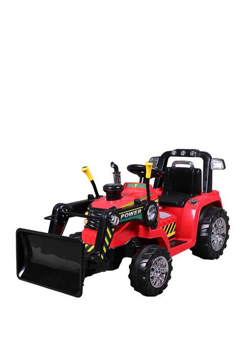 Blazin' Wheels 12V Battery Operated Push Dozer