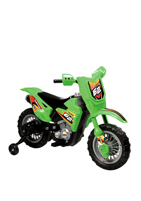 Blazin' Wheels Green 6V Dirt Bike