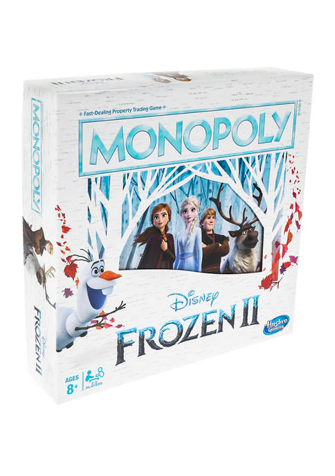 Hasbro Monopoly Game: Disney® Frozen 2 Edition Board