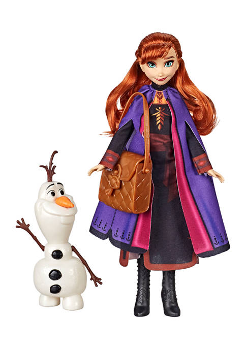 Disney® Frozen Anna Doll With Buildable Olaf Figure