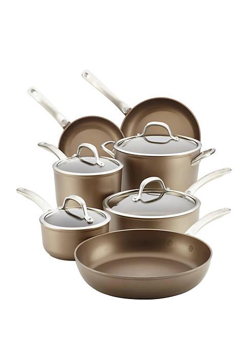 Circulon Ultimum Forged Aluminum Nonstick Cookware, 11 Piece