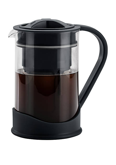 50.7 Ounce Cold Brew Coffee Maker, Black