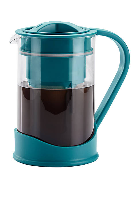 50.7 Ounce Cold Brew Coffee Maker, Aqua