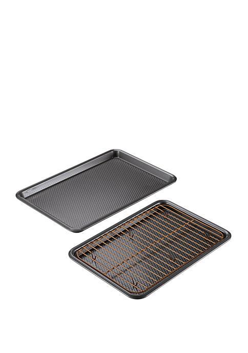 Bakeware 3 Piece Cookie Pan Set