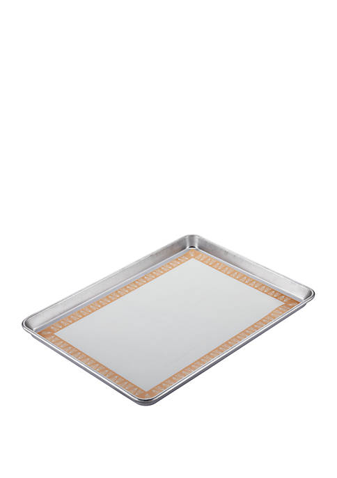 Bakeware Sheetpan with Nonstick Baking Mat, 13 Inch x 18 Inch