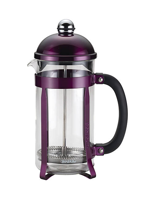 BonJour® Coffee 8 Cup Maximus French Press, Purple