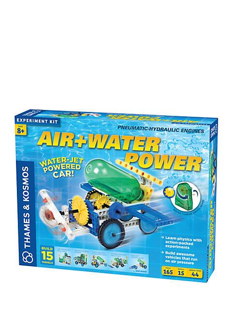 Thames & Kosmos Air+Water Power Experiment Kit