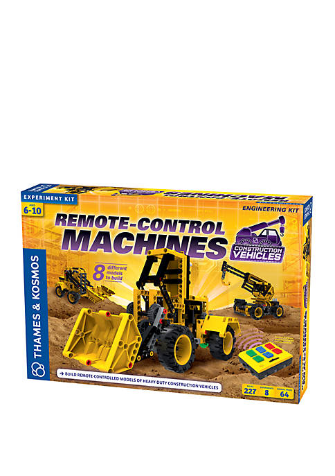 Thames & Kosmos Remote Control Machines Construction Vehicles