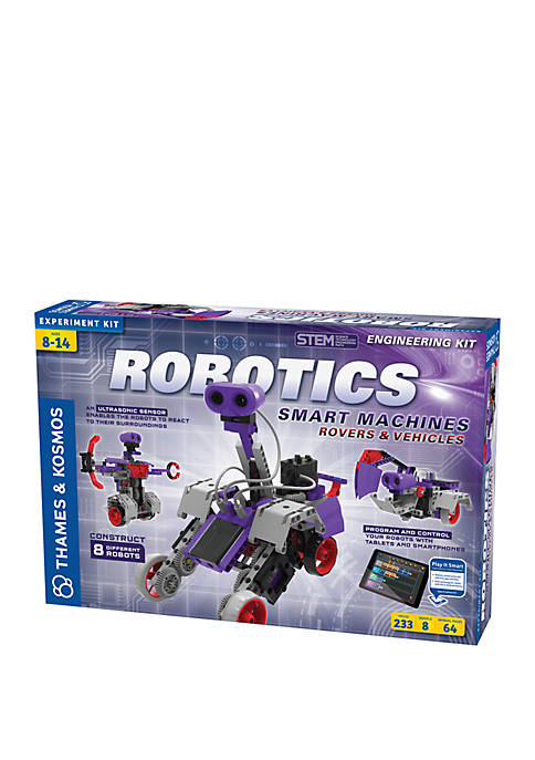 Robotics Smart Machines Rovers and Vehicles Experiment Kit