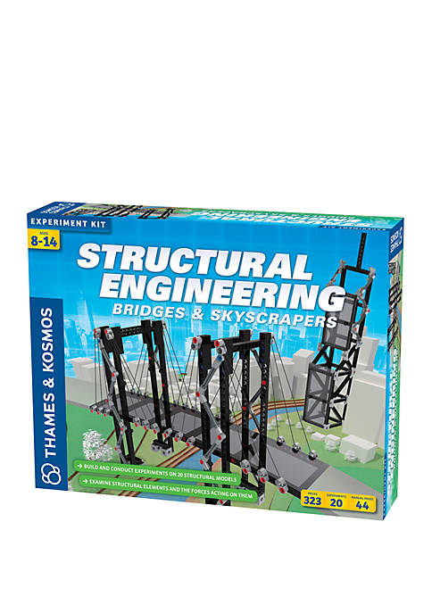 Structural Engineering Bridges and Skyscrapers Experiment Kit