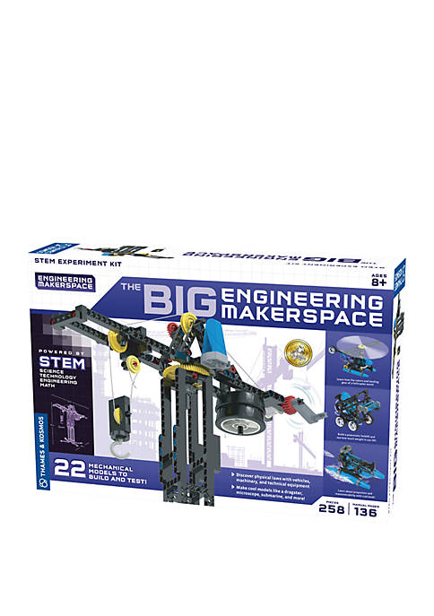 The Big Engineering Makerspace Experiment Kit