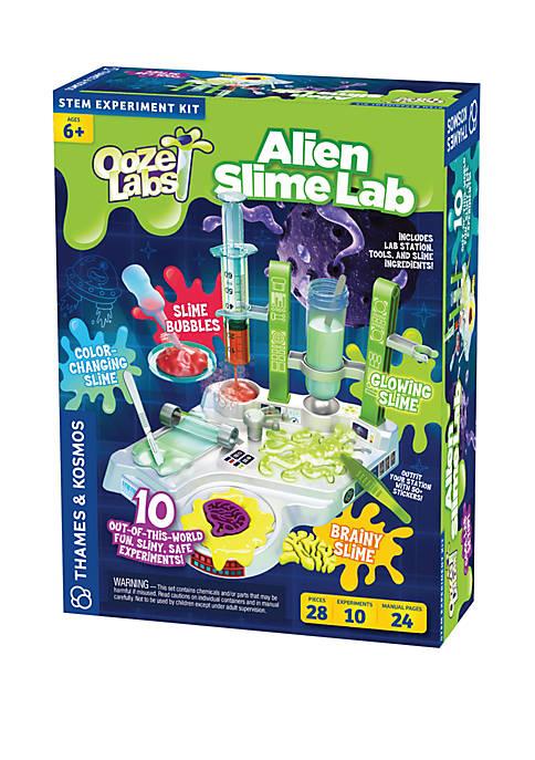 Thames & Kosmos Ooze Labs Alien Slime Lab