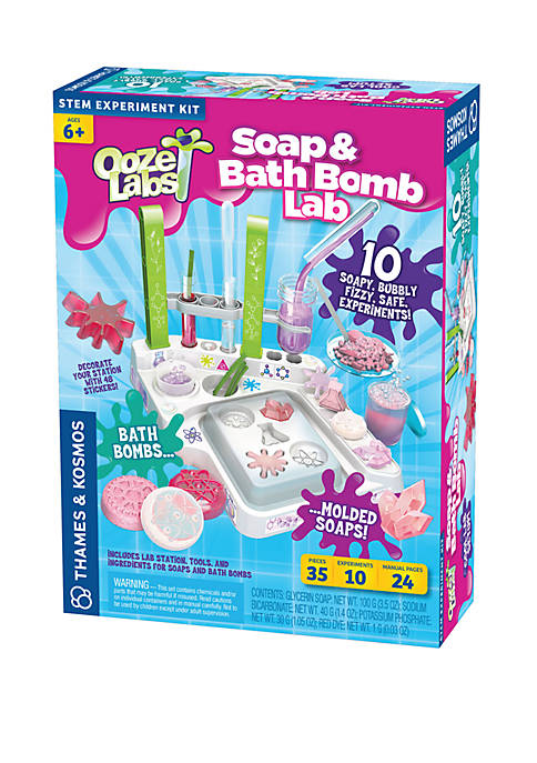 Thames & Kosmos Ooze Labs: Soap and Bath