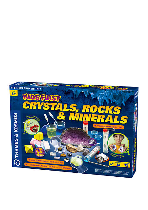 Kids First Crystals, Rocks and Minerals Kit