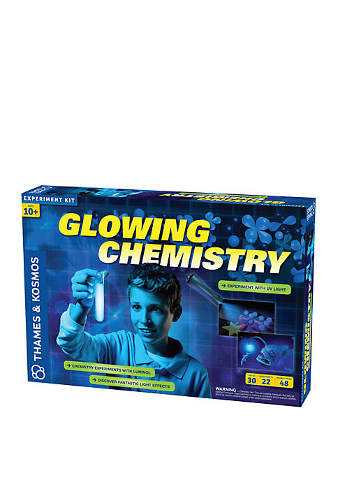 Thames & Kosmos Glowing Chemistry Experiment Kit