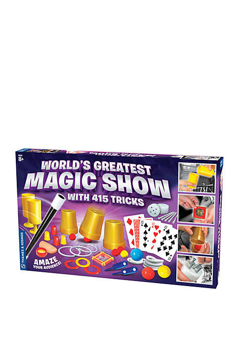 Worlds Greatest Magic Show with 415 Tricks