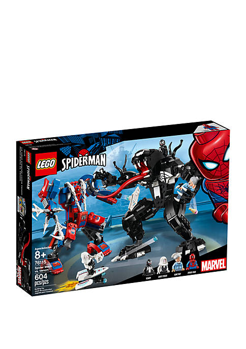 Super Heroes Spider Mech vs. Venom 76115