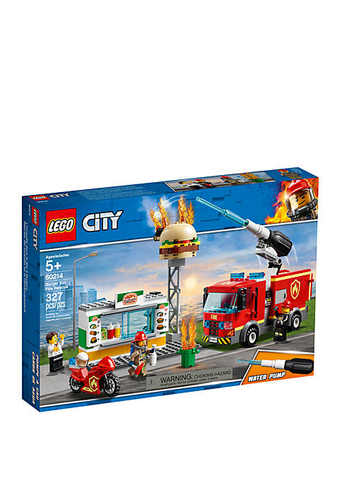 Lego® City Burger Bar Fire Rescue 60214