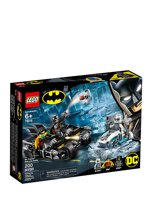 Lego® Super Heroes Mr. Freeze™ Batcycle™ Battle 76118