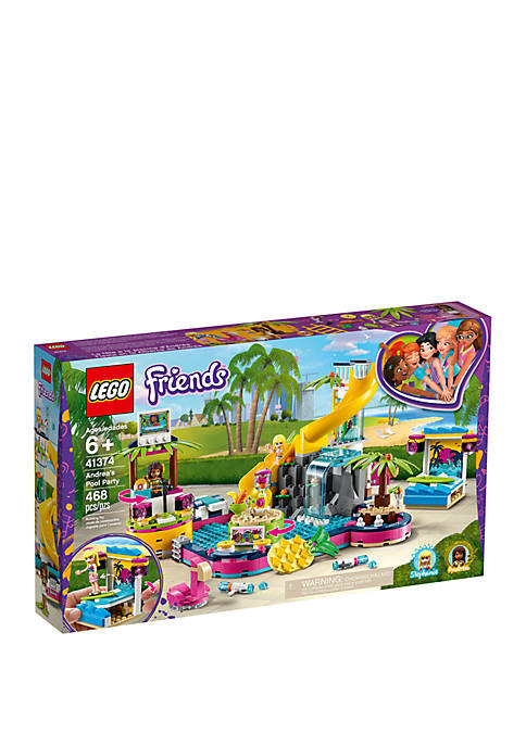 Lego® Friends Andreas Pool Party 41374