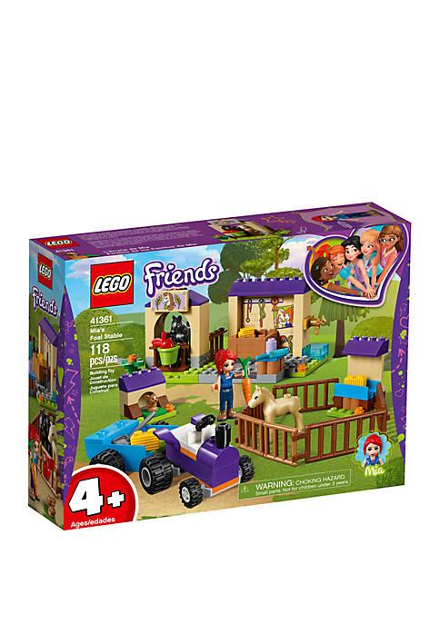 Lego® Friends Mias Foal Stable 41361